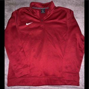 Boys Half-Zip Nike Hoodie - Size Large